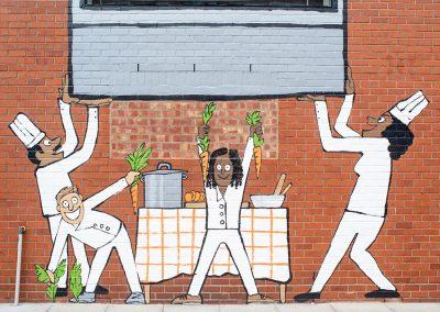 The Facade's Mural