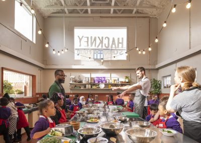 Hackney School of Food in the running for design awards