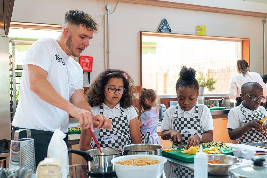 MANDEVILLE CHILDREN WORK WITH TASTILY